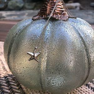 Tiffany & Co. Elsa Peretti starfish necklace